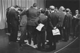 Ford Motor Company press conference, Detroit, 1968