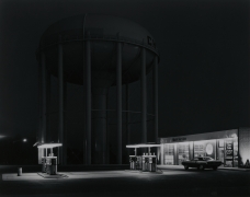 George Tice, Petit's Mobile Station, Cherry Hill, NJ