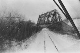 Maybrook Bridge, 1974, vintage gelatin silver print