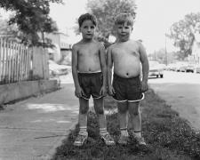 Two Shirtless Boys, 1983-84