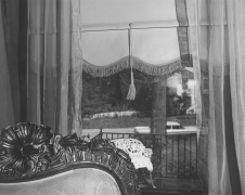 #24 livingroom window, Washington DC, 1977-1978