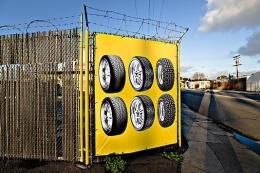 Tire Advertisement , San Diego, California, 2009