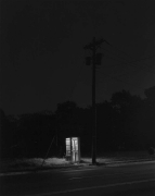 George Tice Telephone Booth, 3 A.M., Rahway, New Jersey