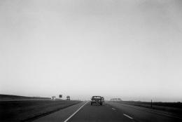 Autolandscape, Iowa at Dawn, 1971