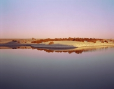 Virginia Beahan Shallow Lagoon on the Western Shore of the Salton Sea, CA