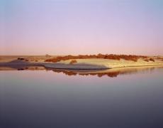 Virginia Beahan Shallow Lagoon on the Western Shore of the Salton Sea, CA