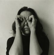 Melissa Shook, Self-portrait, April 3, 1972