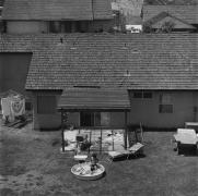 Backyard, Diamond Bar, California, 1980