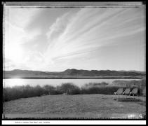 Fisher's Landing, Martinez Lake, Arizona, 1988, vintage gelatin silver print