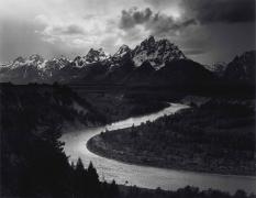 Tetons and Snake River, Grand Teton National Park, Wyoming, 1942