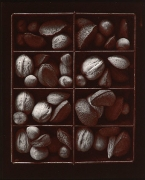 Mixed Nuts, 1975, From Ephemera Portfolio, Toned gelatin silver print, 5 x 4 1/2 inches