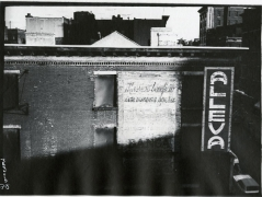 Alleva, 1978, vintage gelatin silver print (Itek print)