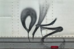 OK Graffiti, Near Oxnard, California, 2003