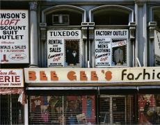 Bee Gee's, NY, 1984, digital chromogenic print