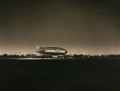 Blimp, Los Angeles, 2005, platinum print