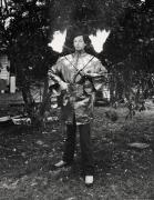 Fred Luccino/Fire Eater, Gibsonton, Florida, 1975