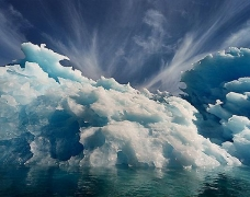 Len Jenshel, Narsaq Sound, Greenland, 2001, chromogenic print