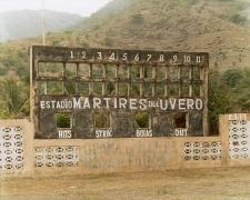 Baseball Scoreboard, Estadio Mártires del Uvero 2004