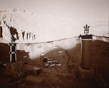From the Monastery Roof, Spite, Ladakh India, 1994,
