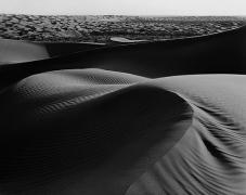 Twisted Dune, El Gran Desierto, Sonora, carbon pigment print, 22 x 28 inches