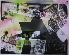 Multivariate Analysis, from the series Spray Painted Photograms