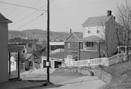 View of Bellaire, Ohio, from Benwood, West Virginia