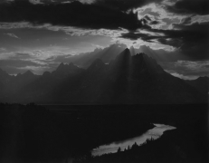 Minor White The Grand Tetons, Wyoming