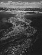 Sea Stream, Clouds, Rodeo Lagoon, CA, 1962