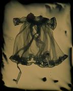 Susan Seubert Dressing Gown 2, 2005, dry plate tintype