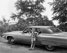 Two Boys with Automobile, 1983-84