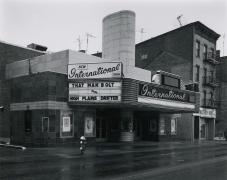 George Tice New International Cinema, New Brunswick, NJ