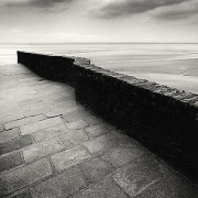 Winding Wall, Mont St. Michel, France, 2004,