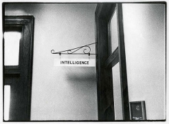 Intelligence, 1977, vintage gelatin silver print (Itek print)