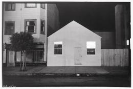 Theater House, 1990, vintage gelatin silver print (Itek print)