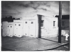 17th Street Garages, San Francisco, CA, 1976, vintage gelatin silver print (Itek print), 18 x 24 inches