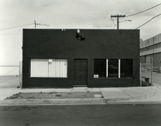 Industrial Building, National City, CA, 2018, gelatin silver contact print