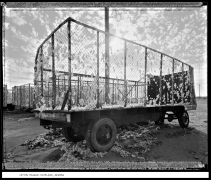Cotton Trailer, Dateland, Arizona, 1988, vintage gelatin silver print