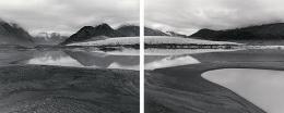 Diane Cook, Near Jesperson, Greenland, 2001, gelatin silver prints