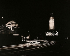 Sunset Boulevard, Hollywood, California, 2004, platinum print