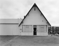 Industrial Building, National City, CA, 2016, gelatin silver contact print