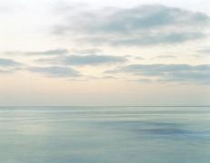 Bill Rastetter, Windansea Beach, La Jolla, CA, Ocean after Sunset, 2008, giclée print, 32 x 44 inches