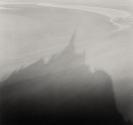 Sand Shadows, Mont St. Michel, France, 1994,