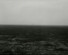 Untitled, from Farm Landscapes, 1983, gelatin silver contact print, 8 x 10 inches