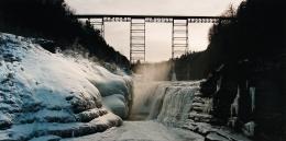 Upper Portageville Falls, Letchworth Park, NY, 1989