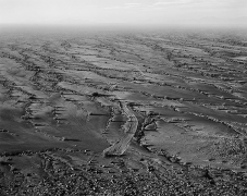 Spur, Barry M. Goldwater Range, Arizona, carbon pigment print, 32 x 40 inches