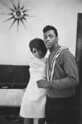 Newlywed couple, Detroit, 1968