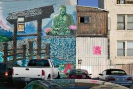 Buddha Wall, San Diego, California, 2005