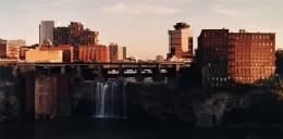 Upper Genesee Falls, Rochester, NY, 1988