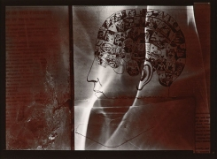 An Orderly Mind, 1977, From Ephemera Portfolio, Toned gelatin silver print, 5 1/4 x 7 inches
