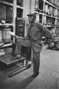 Warehouse worker, Detroit, 1968